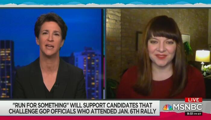 Rachel Maddow and Guest