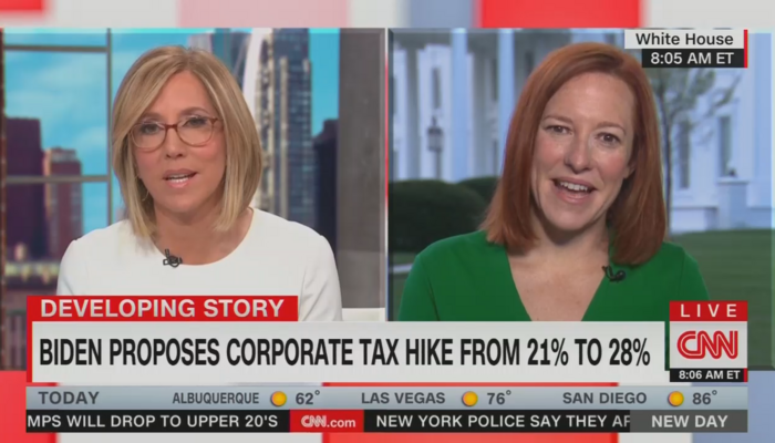 Alisyn Camerota Jen Psaki CNN New Day 3-31-21