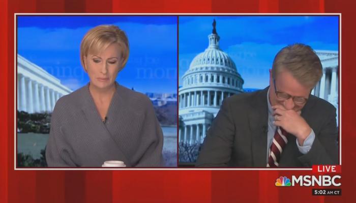 Mika Brzezinski Joe Scarborough MSNBC Morning Joe 3-1-21